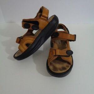 MBT Womans Kisumu Leather Toning Sandals Size 7